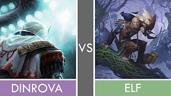 GoG Table 1 - Dinrova Tron Vs Elf - Ronde 4 - MTG Peasant