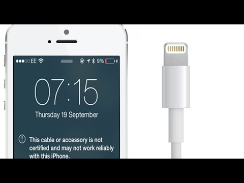 How To Charge iPhone/ iPad/ iPod Using Unsupported Cord/ Accessories