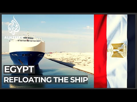 Egypt: Plan made to use tide to refloat ship blocking Suez Canal