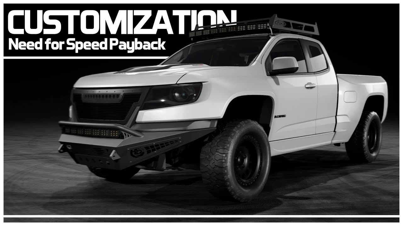 Need For Speed Payback Preview Customization Chevrolet