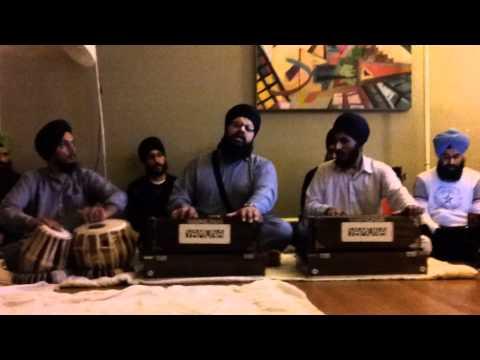 UC Davis Kirtan Night - Bhai Atamjot Singh - Kar Kirpa Kirpaal