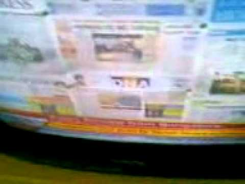 Dosa & DDI News How ugly Bangalore Newspaper frontpage look