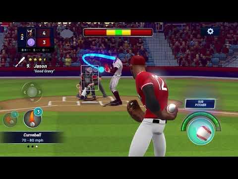 Ballistic Baseball on Apple Arcade