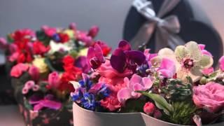 Цветочная коробка от салона