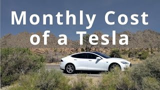What Is the Monthly Cost of a Tesla?
