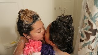 OUR MORNING ROUTINE AS A COUPLE!!! (GETS EMOTIONAL)