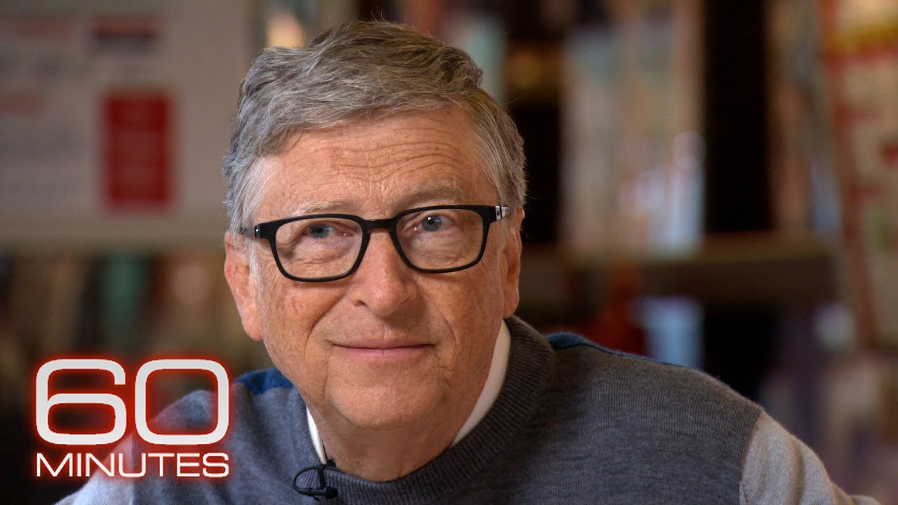 Download Bill Gates: The 2021 60 Minutes interview