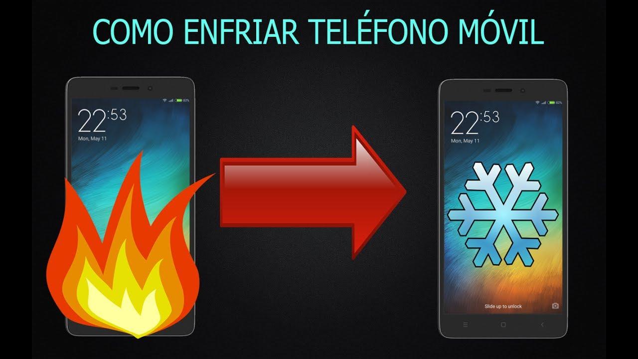 92ea6448ff5 Como enfriar tu teléfono móvil de forma rápida y sin aplicaciones -  Android, Windows e IOS