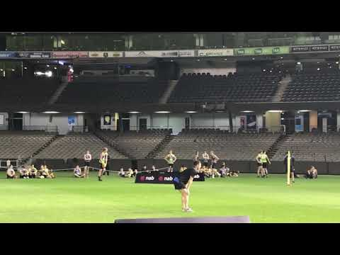 Norwood's Harry Petty - Goal Kicking Test 2017 AFL Combine