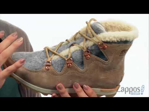 eb7d6ccb715 SOREL Sneakchic Alpine Holiday SKU: 8896019 - YouTube