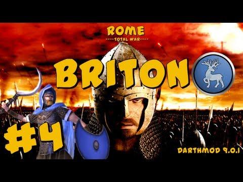 Rome Total War: Darthmod - Briton Campaign Part 4 ~ Will I Never Learn?!