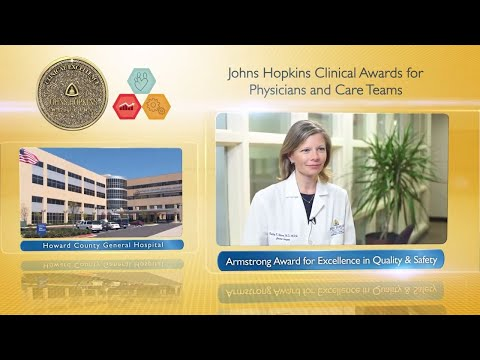 Armstrong Award for Excellence in Quality and Safety – Hadley Wesson MD MPH HCGH