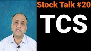 TCS Technical Analysis - Stock Talk with Nitin Bhatia #20 (Hindi)