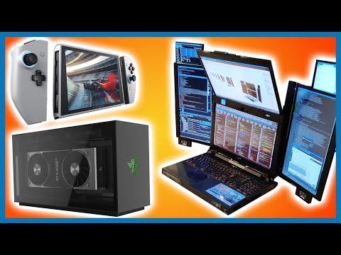 PC Im Switch-Format, 360-Hz-Monitor, Notebook Mit 7 Displays, … | Krasse Neue Hardware Für 2020