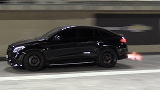 Mercedes-AMG GLE63s RS800 PP Performance - BIG FLAMES & 1/4 Mile Drag!