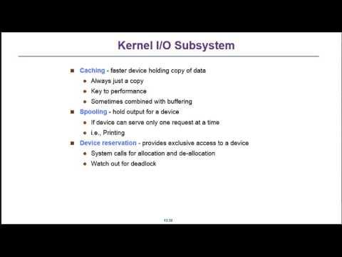 2014 05 19 Operating System @ FJU CSIE OS IO Kernel 2