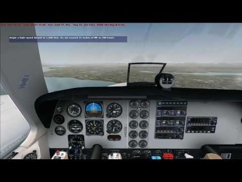FSX Commercial Pilot Check Ride Walkthrough - Part 1 (HD)