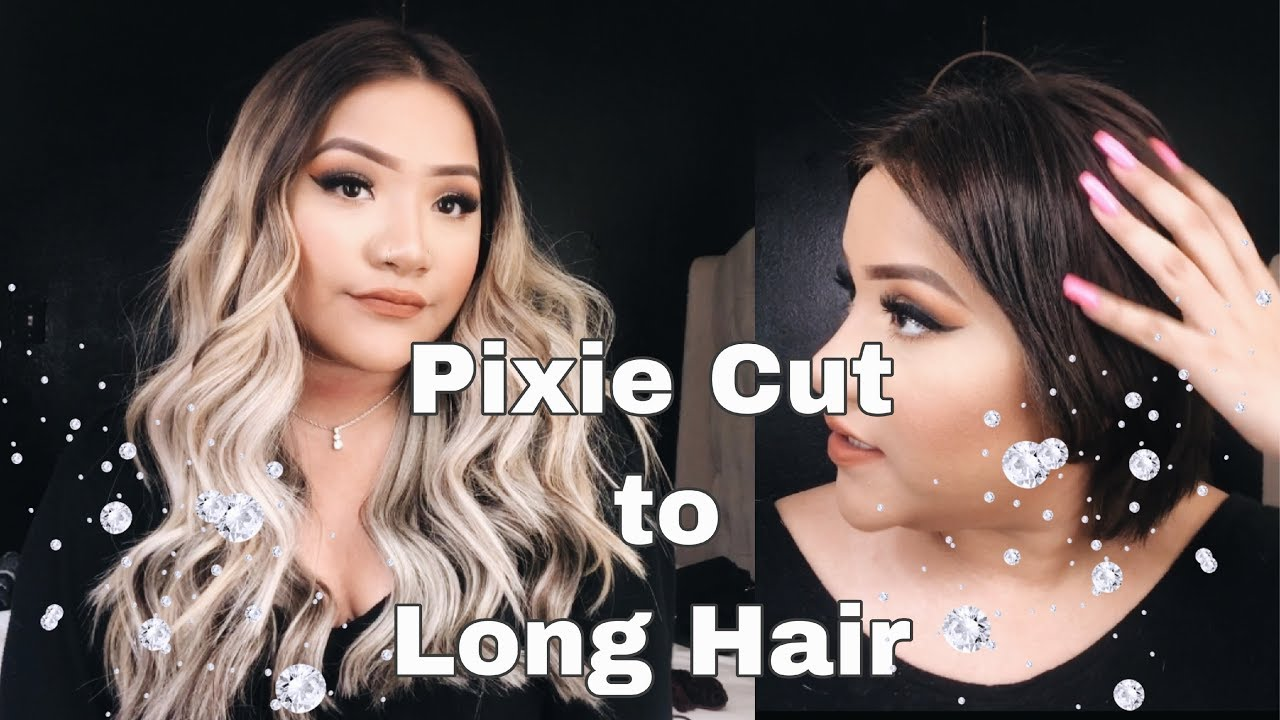 [How to] Pixie Cut + Extensions!!!