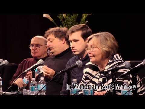 Вечер памяти Бориса Немцова в Нью Йорке. In Memory of Boris Nemtsov