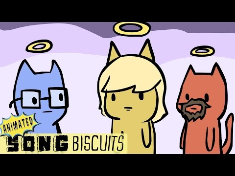 The Cat's 9 Lives Song - Animated Song Biscuits