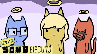 Repeat youtube video The Cat's 9 Lives Song - Animated Song Biscuits