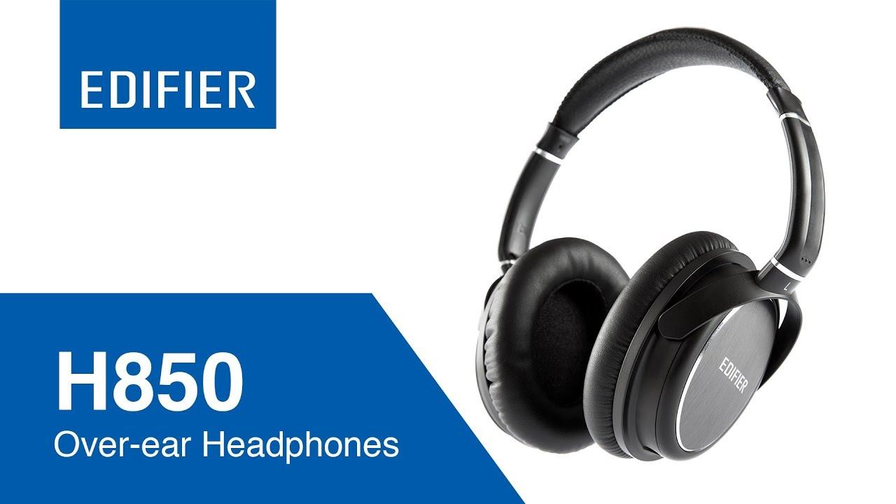 edifier h850 studio monitor headphones youtube. Black Bedroom Furniture Sets. Home Design Ideas