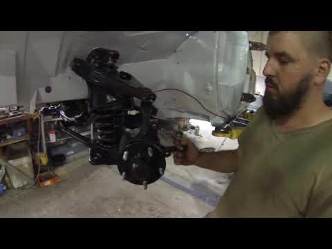 ACRG   Газ 24 новые ступицы и тормоза