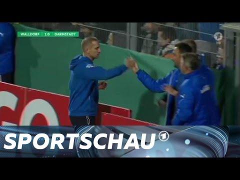 DFB-Pokal: Walldorf wirft Darmstadt raus   Sportschau