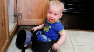 Funny Baby Helping Mother in Houseworking 2 - Cute compilation