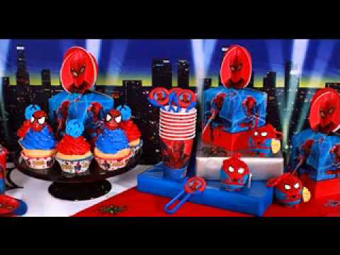 Spiderman birthday party ideas  YouTube