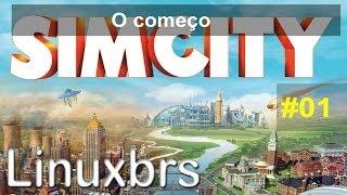 Gameplay PC - SimCity 2013 #01 - Começando o Jogo - PT-BR - Brasil