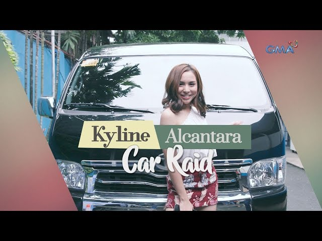 WATCH: Car Raid with Kyline Alcantara