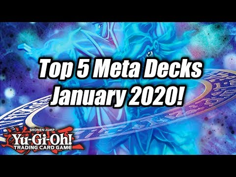 Yu-Gi-Oh! Top 5 Meta Decks for the January 2020 Format!