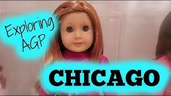 Exploring American Girl Place Chicago!!