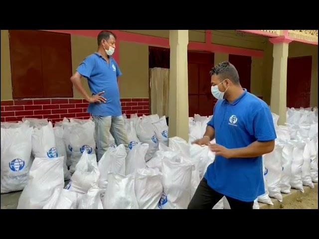 Ramadan 2021 - Food Pack distribution Raj Nao, Derai