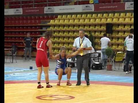 JWEC-2013 - Sabira Aliyeva (AZE) - Zsanet Nemeth (HUN) / Gold Medal Match
