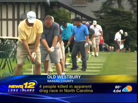 News 12 Coverage of 30th Annual Marty Lyons Celebrity Golf Classic