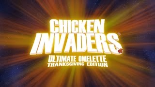 Chicken Invaders 4 Thanksgiving Edition (Full gameplay and my best record)