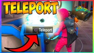 *NEW* How To TELEPORT In Fortnite Battle Royale PS4, XBOX, PC (Fortnite Battle Royale Glitches)