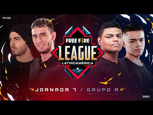 ¡Jornada 7 de la Free Fire League 2021! 🔥   Grupo A - Apertura