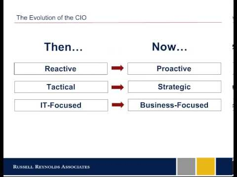Russell Reynolds on staying relevant as an IT executive - The Path to CIO