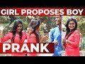 CUTE Girl Proposing to Boys in Public | Valentine's Day Prank | Chennai Prank 2019