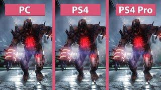 Killing Floor 2 – PS4 Pro vs. PS4 vs. PC 1080p Mode Graphics Comparison