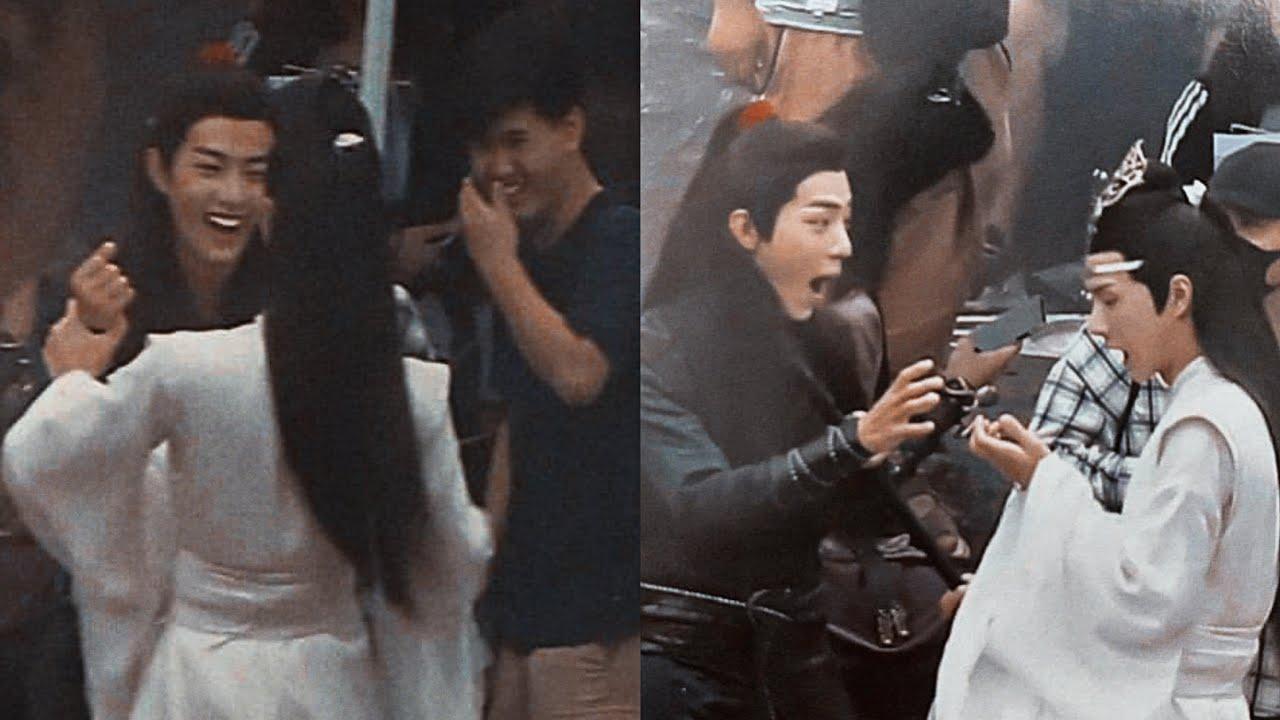 [WangXiao couple] cái kéo huyền thoại của gg,dd u mê •tiêu chiến nhất bác xiaozhan yibo moment