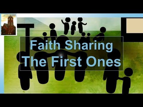 20180408 FaithSharing: The First Ones
