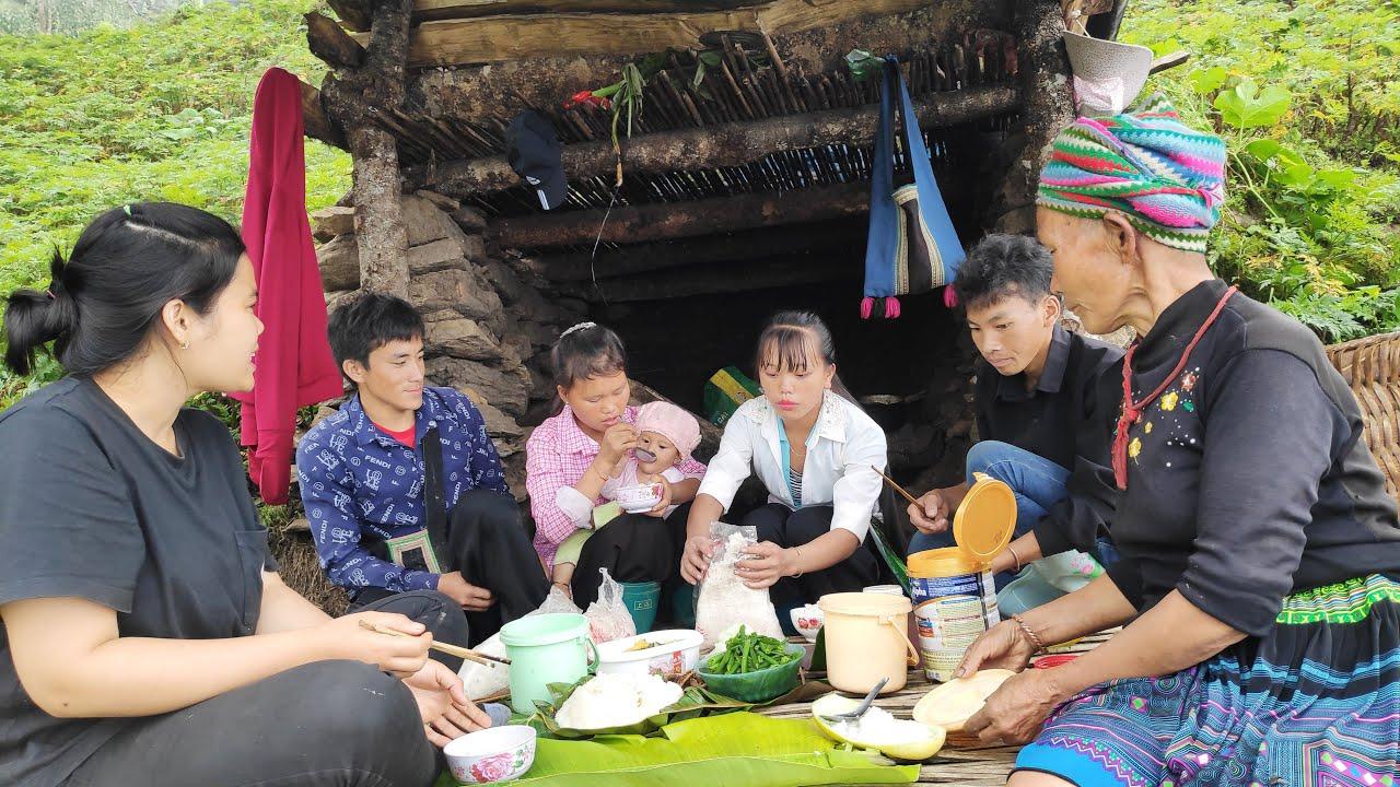 Bữa Cơm Nghèo Làm Nương Của Vợ Chồng A Hồng   Trình Tường TV