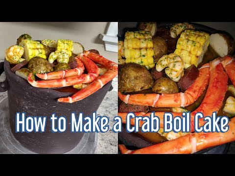 How To Make A Crab Boil Cake!!!