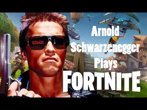 Arnold Schwarzenegger ...
