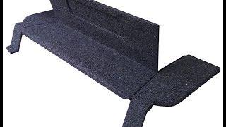 Акустическая полка ВАЗ 2108 - 2109 с боковинами карпет(, 2014-05-10T16:40:42.000Z)