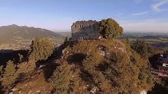 Burg Falkenstein/Pfronten im Allgäu bei Sonnenaufgang
